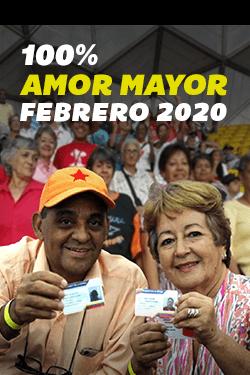 100% Amor Mayor Febrero 2020