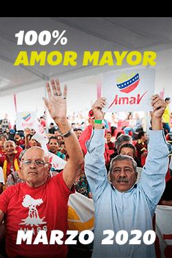 100% Amor Mayor Marzo 2020