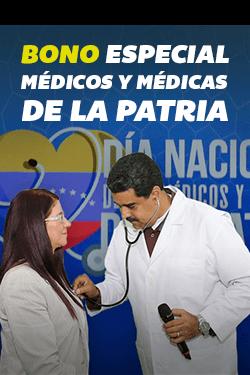Bono Especial Médicos y Médicas de la Patria